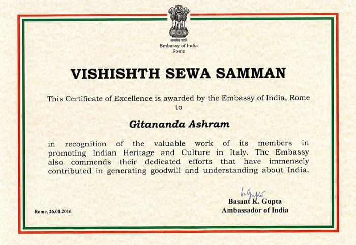 attestato-di-vishishth-sewa-samman-ambascata-indiana